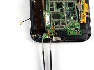 Kopfhöreranschluss / Mikro USB Platine