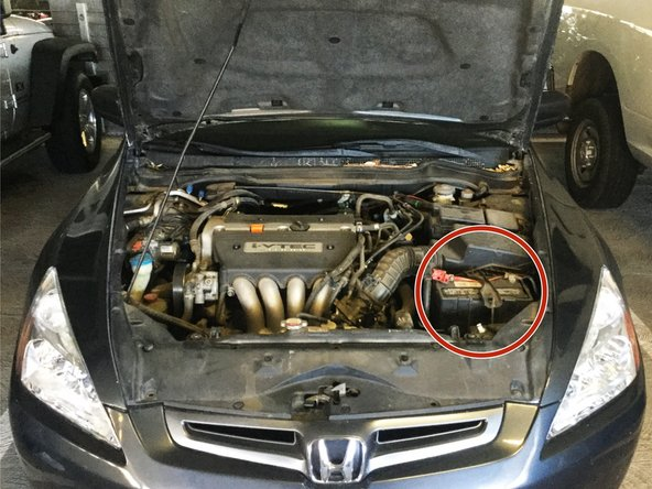 2003-2007 Honda Accord Battery Replacement  2003  2004  2005  2006  2007