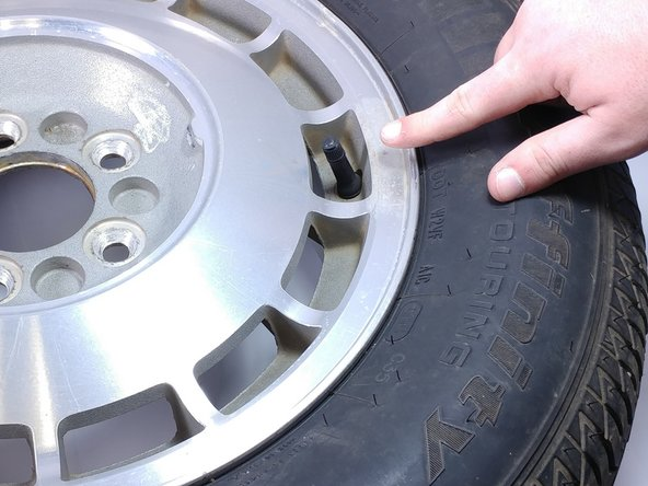 Car Tire Valve Stem Replacement