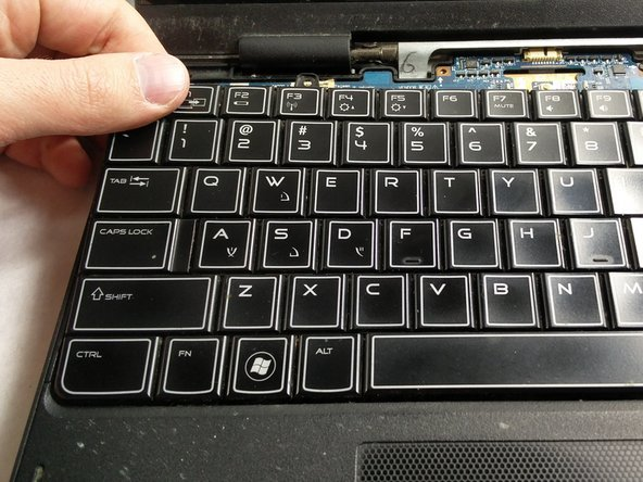 Dell Alienware M11x R3 Keyboard Replacement - iFixit Repair