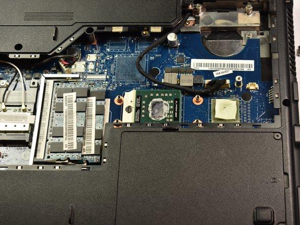 Lenovo Essential G555-0873 CPU Replacement