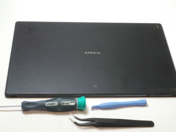 Sony XPERIA Tablet Z Volume Button Replacement