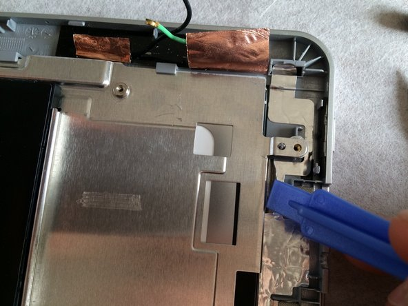 Do not use excessive force to peel the  aluminium tape off the metal plate. Doing so may tear the aluminium.