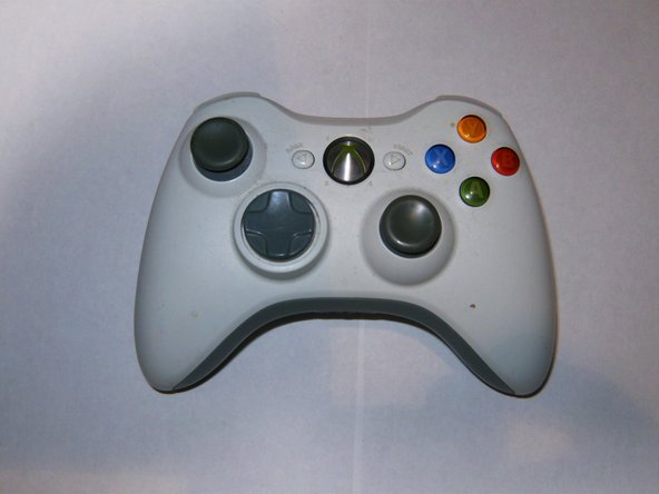 Here is the controller that will get new analog sticks.