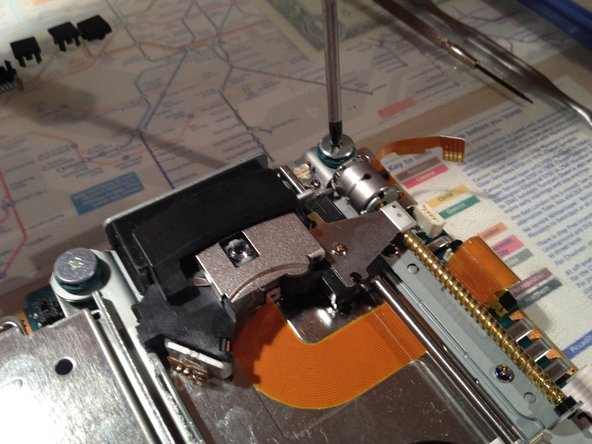 Pull the flex cable out of its socket.