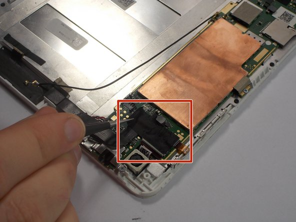 Acer Iconia A1-830 Rear Facing Camera Replacement