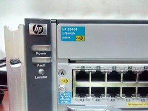 HP 5406zl Switch Chassis (J8697A) Repair