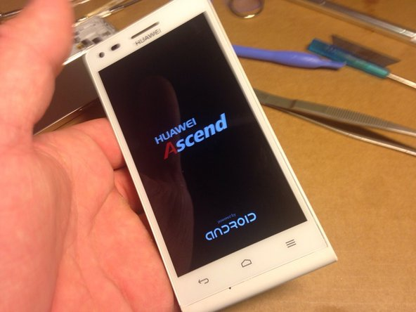 Huawei Ascend G6 Front Panel Replacement