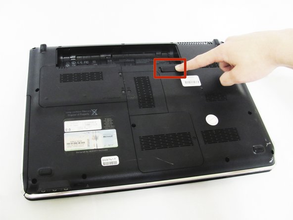 Ensure your computer is shut down. Removing the battery while the laptop is still on may corrupt your files. Remove any power adapters and cords connected to the laptop body.