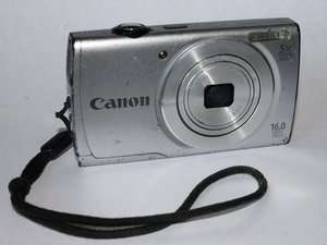 Canon PowerShot A2500 Troubleshooting