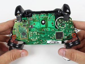 Xbox One Wireless Controller Trigger Rumble Motor Replacement ... Xbox One Controller Wiring Diagram on