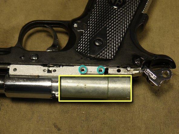 Now to remove the valve body.