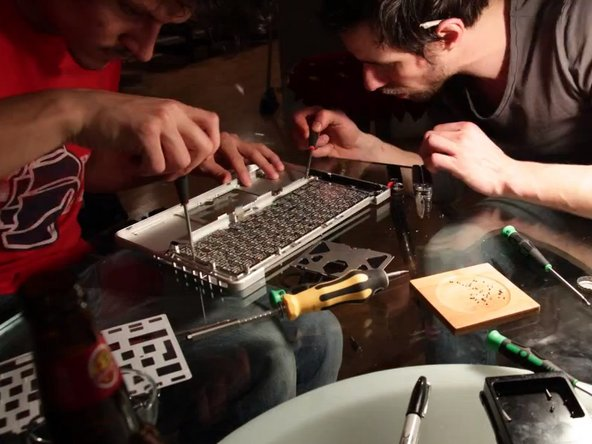 Image from a MacBook repair video