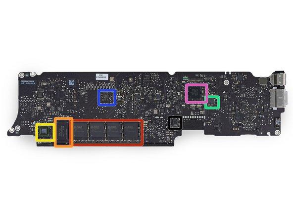 Image 1/1: Elpida F8132A1MC 8 Gb LPDDR3 RAM—(4 x 8 Gb = 32 Gb = 4 GB)