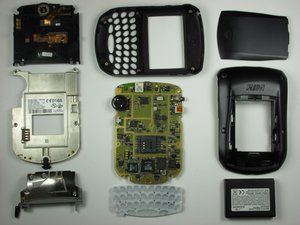 RIM Blackberry 7290 Teardown