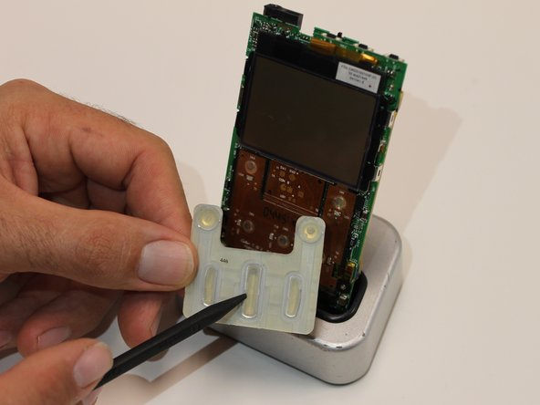 Wipe down the circuit board and the buttons with a disposable wipe. Then, use a cotton swab to remove dirt and grime in the crevices of the device.