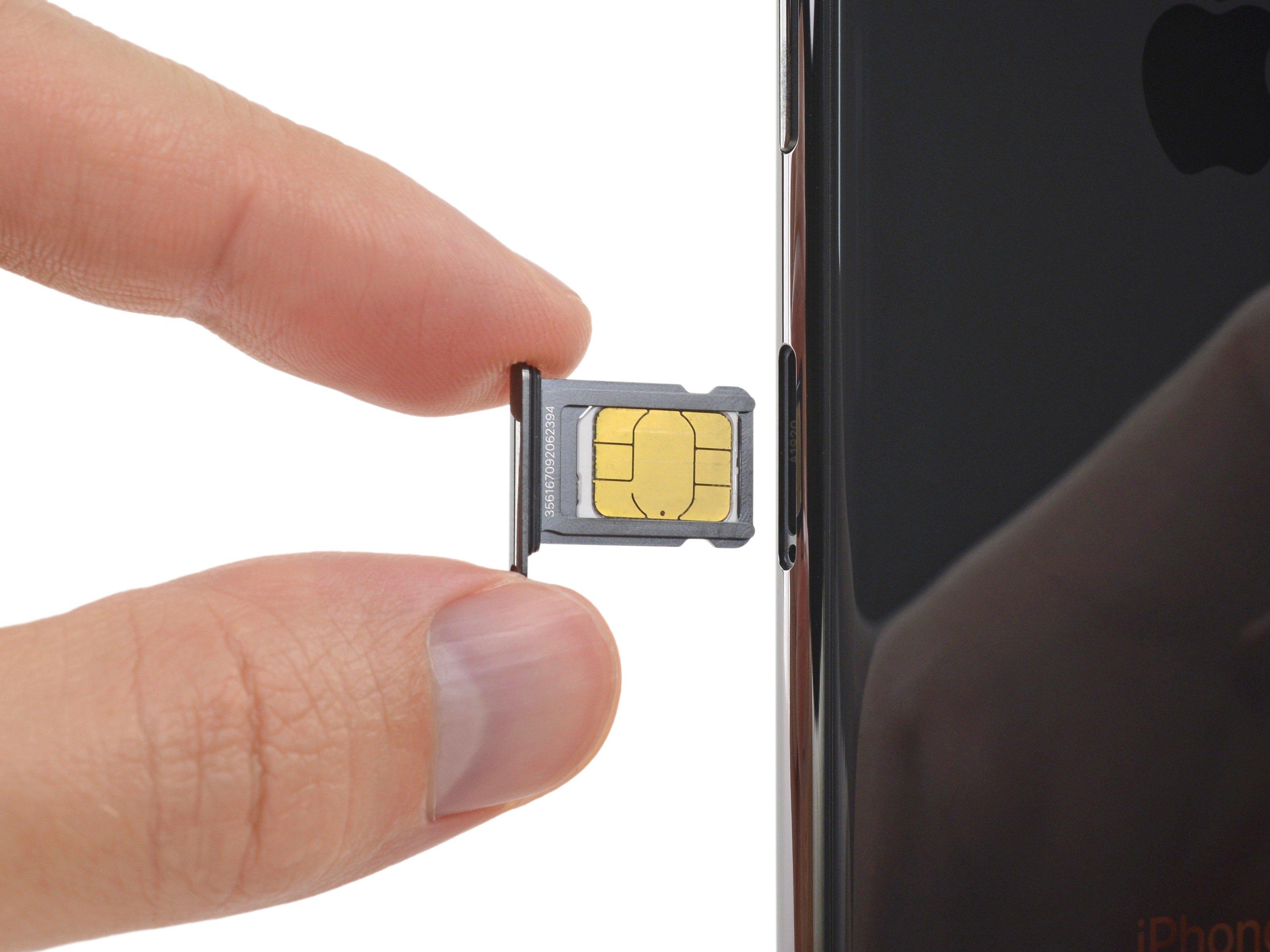Iphone Sim Karte.Iphone Xs Sim Card Replacement Ifixit Repair Guide