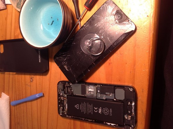 iPhone 5 Glass Replacement
