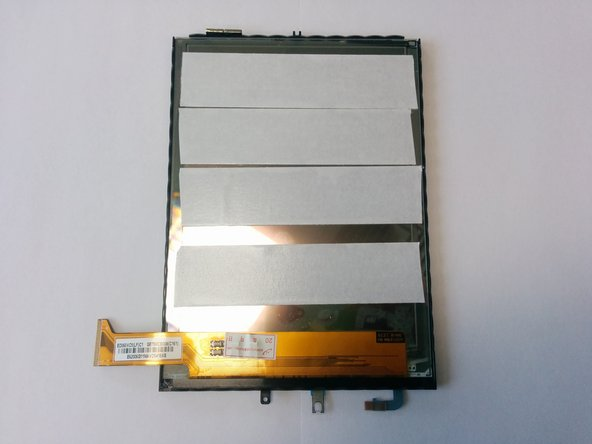 Image 3/3: Put the screen into the black frame. Upper side of the screen should touch upper side of the frame.