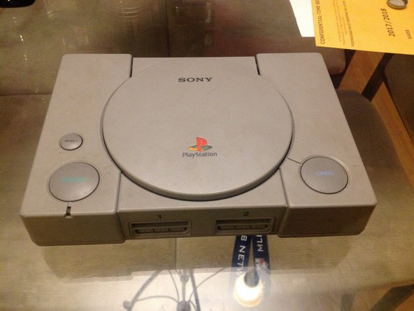 This is your PlayStation before you do this teardown.