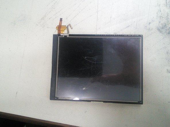 Remplacement du LCD inférieur et du tactile de la Nintendo 3DS XL 2015 LCD