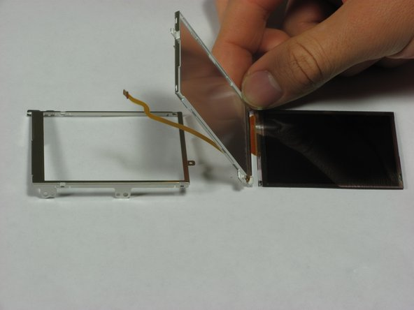 Image 2/2: LCD screen frame