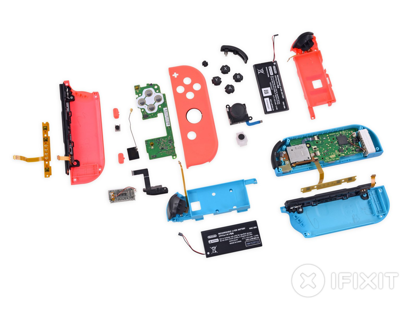 Nintendo Switch Teardown Ifixit Australia Silicon Chip Online House Wiring Looking At Light Switches