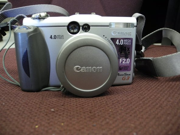 Canon PowerShot G3 Screen Replacement