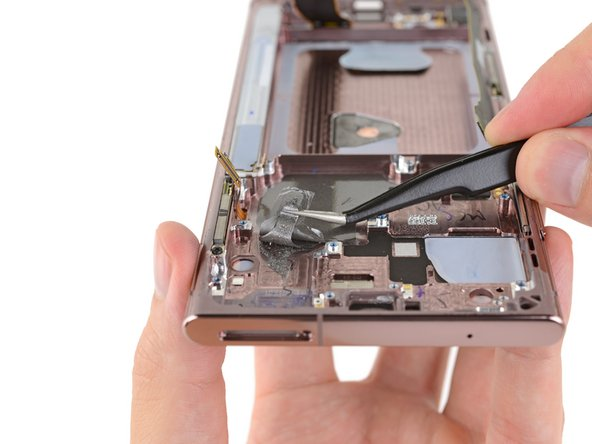 The strangest thing about these phones so far is, of all things, what lies underneath the motherboards.