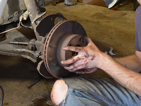 1986-1993 Volvo 240 Front Brake Rotors Replacement