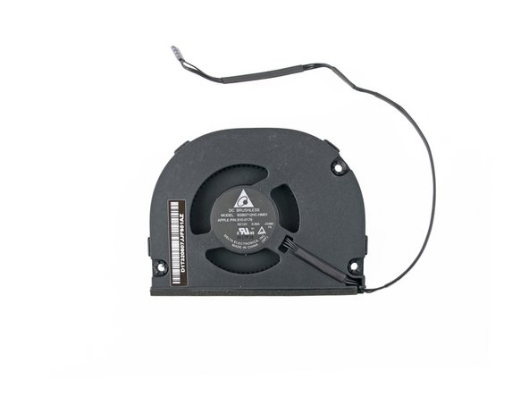 The DC brushless fan is labeled BSB0712HC-HM01 and is made by Delta Electronics.