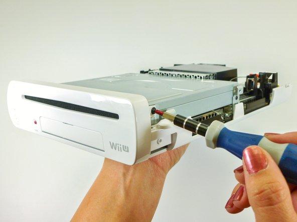 Nintendo Wii U Frontplatte Austausch