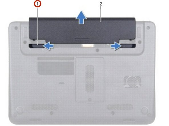 Dell Inspiron 10z 1120 Battery Replacement
