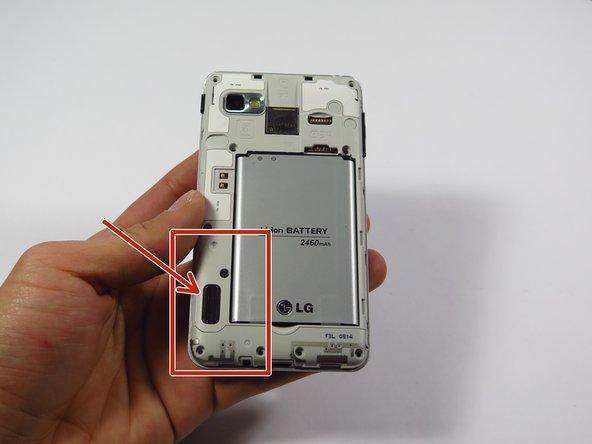 LG Optimus F3 Speaker Replacement