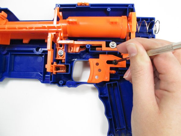 Remove the trigger mechanism.