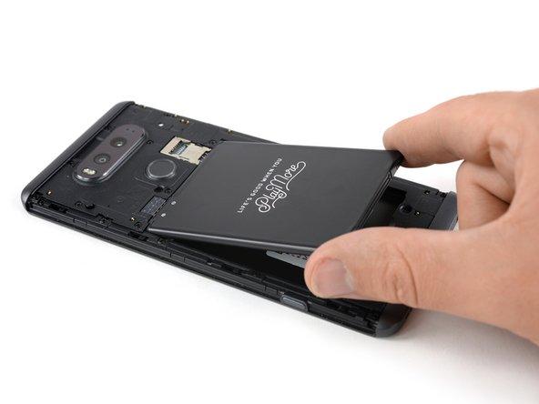 Remplacement de la batterie du LG V20