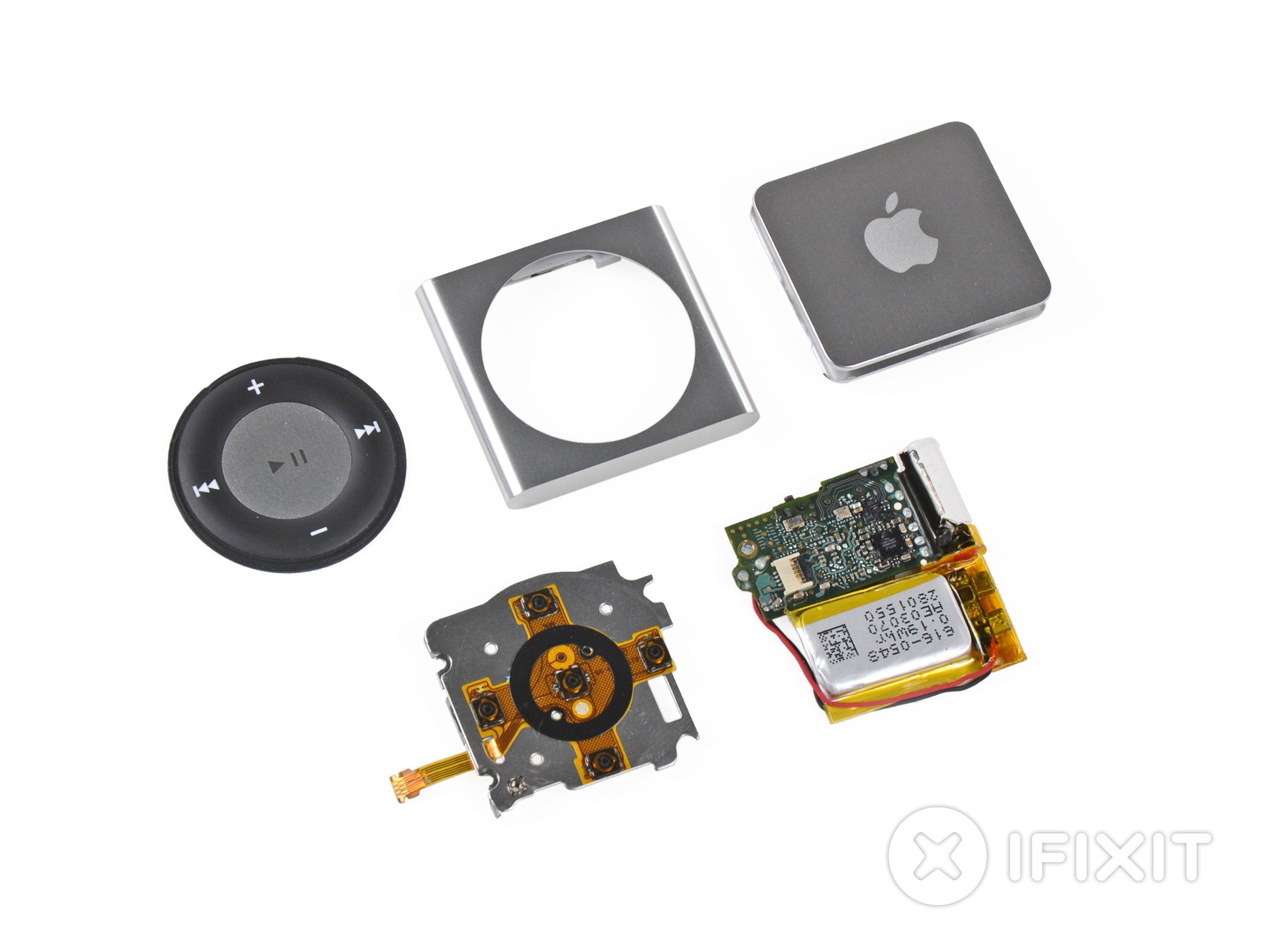 iPod Shuffle 4th Generation Teardown