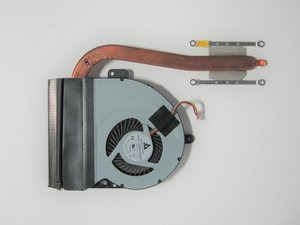 Asus K53E-BBR7 Fan Replacement