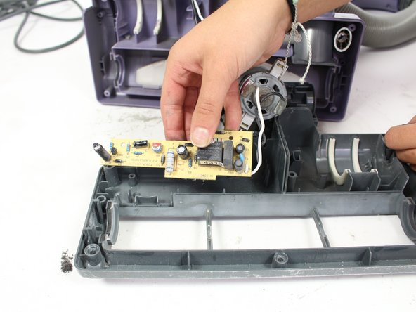 The capacitors on the motherboard may still hold a residual charge, so avoid touching them because there is a risk of getting shocked.