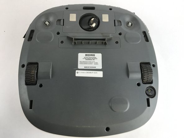 Ecovacs Deebot D35 Battery Replacement Ifixit