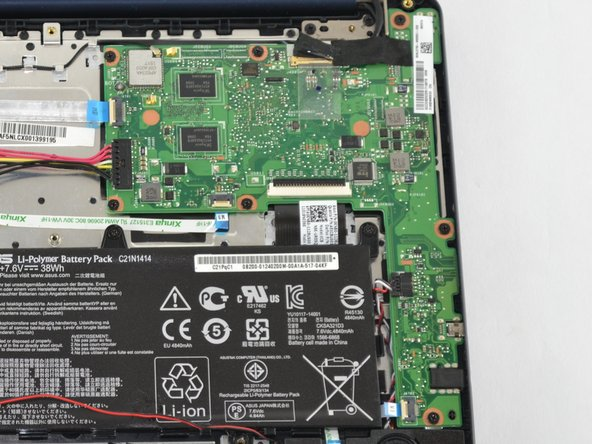 Asus EeeBook X205TA Motherboard Replacement