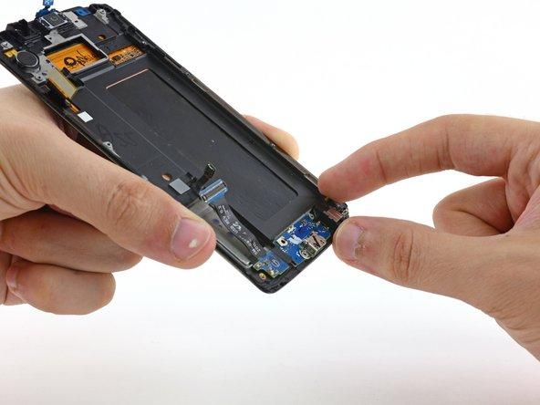 Reemplazo del ensamblaje de pantalla y marco del Samsung Galaxy S6 Edge