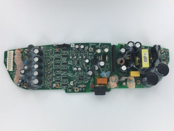 The larger of the two boards is the power supply board.