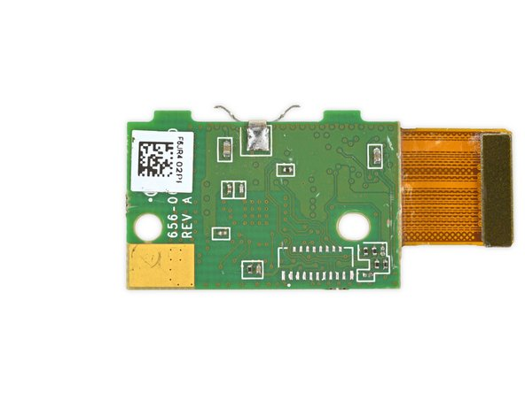 Image 3/3: Qualcomm [https://www.ioeday.com/sites/default/files/2-IOEDay_2014_WearableUpdate1024Final.pdf|QCA6134X-AM2D|new_window=true] Wi-Fi/Bluetooth SiP