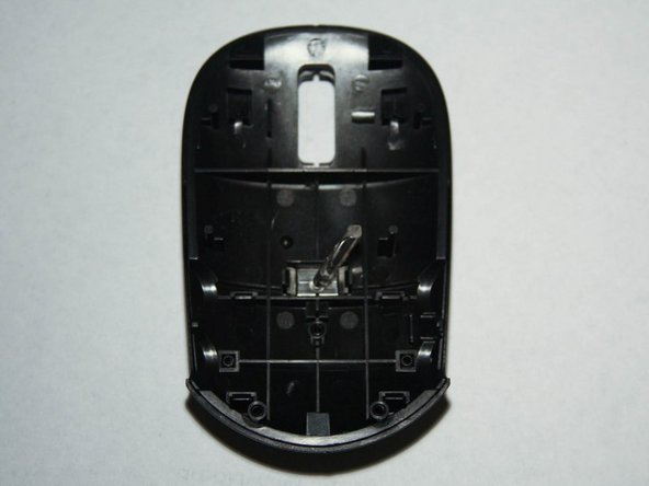 At this point, you have separated the mouse cover