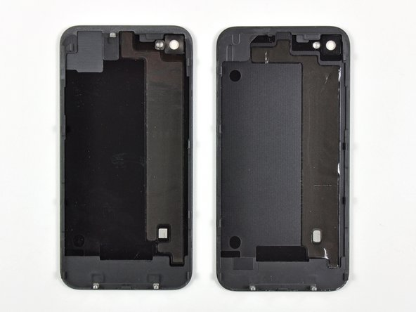 Image 1/1: The back covers are very similar, but not interchangeable.