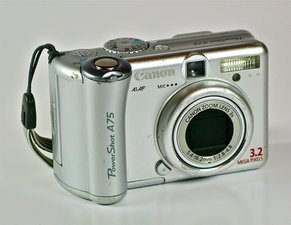 Canon PowerShot A75 Troubleshooting
