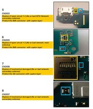 Antenna Board REplacement for D5803 - Sony Xperia Z3 Compact