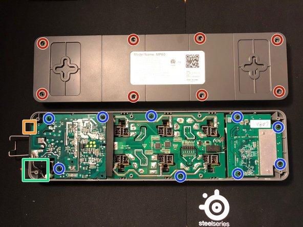 8x 3mm Triangle bit case screws