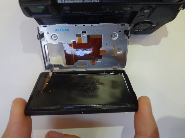Sony Alpha NEX-6 LCD Screen Replacement